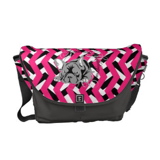 French Bulldogge curing ashes Messenger Bag