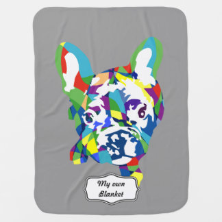 French Bulldogge puppy Baby Blanket