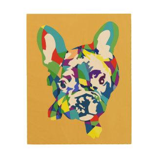 French Bulldogge puppy Wood Print