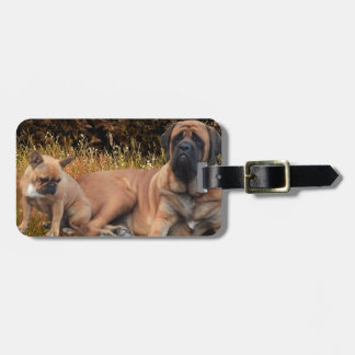 French Bulldoggen Mastiff Kofferanhänger Luggage Tag