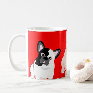 French Bulldogs Christmas Coffee Mug