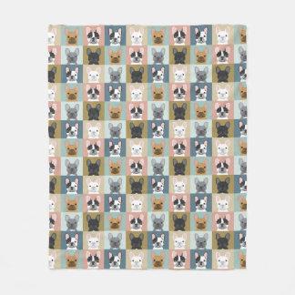 French Bulldogs cute blanket - best blanket design