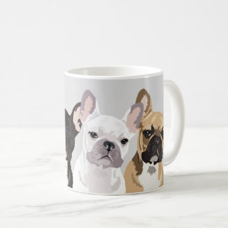French Bulldogs | Cute Frenchie Bulldog Coffee Mug