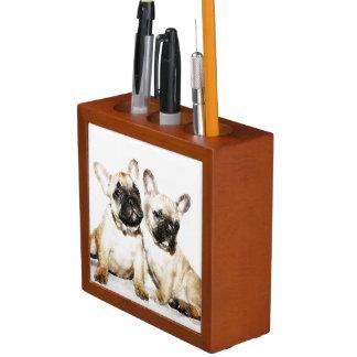 French Bulldogs Desk Organisers