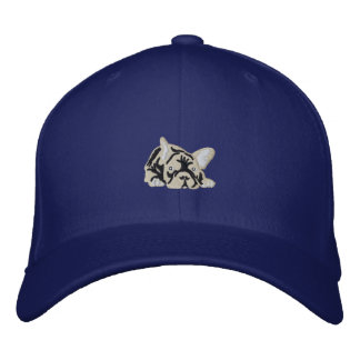 French Bulldogs Embroidered Hat