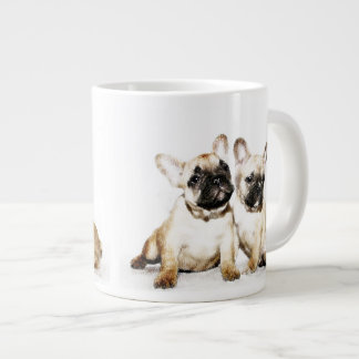 French Bulldogs Large Coffee Mug
