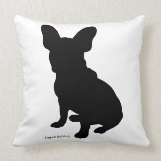 French burudotsugukutsushiyon french bulldog throw pillow