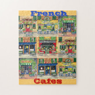 French Cafes Puzzle