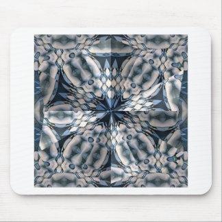 French Celtic Kaleidoscope Mouse Pad