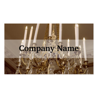 French Chandelier, Rococo In Paris Pack Of Standard Business Cards