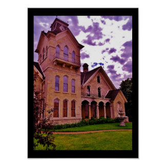 French Chateau Poster