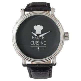 French Chef Haute Cuisine Gourmet Wristwatch