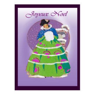 French Christmas card 1904, Joyeux Noel