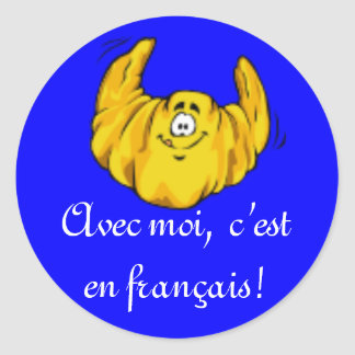 French Class Stickers