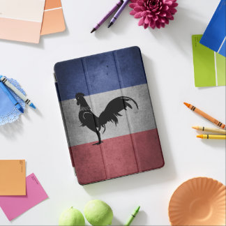 French coq iPad air cover