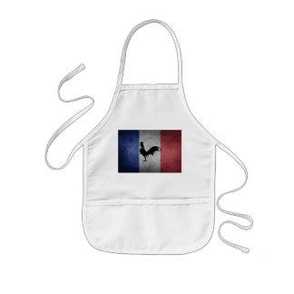 French coq kids apron