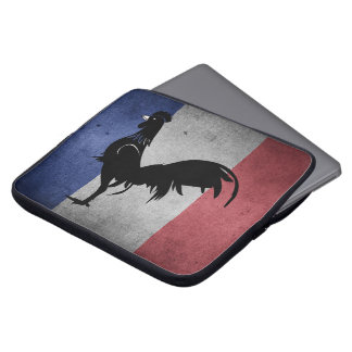 French coq laptop sleeve