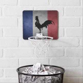 French coq mini basketball hoop