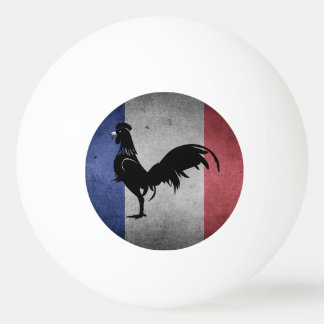 French coq ping pong ball