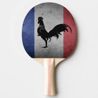 French coq ping pong paddle