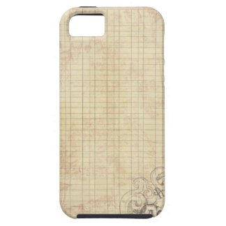 French Corner Stamped Ledger iPhone 5/5S Covers