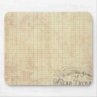French Corner Stamped Ledger Mousepads