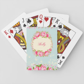 French Cottage Garden Playing Cards