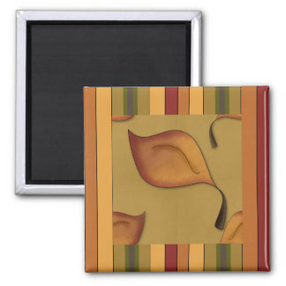French Country Autumn Leaves Magnet