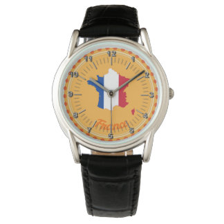 French country flag watch