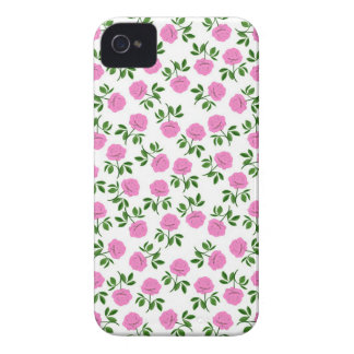 French Country Tea Rose Blackberry Bold  Case iPhone 4 Case