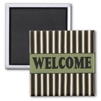 French Country Welcome Fridge Magnet