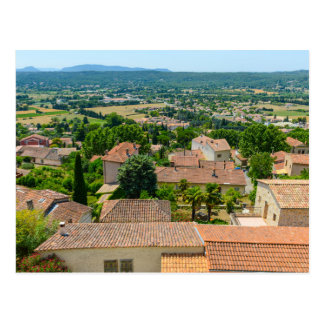 French Countryside in Provence Photograph Postcard