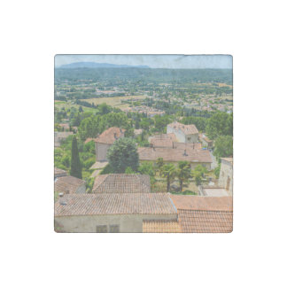 French Countryside in Provence Photograph Stone Magnet
