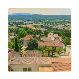 French Countryside in Provence Photograph Wood Coaster