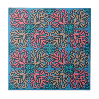 French decorative pattern tiles