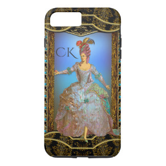 French Delight Chic Baroque Monogram Plus iPhone 8 Plus/7 Plus Case