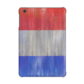 French Distressed Flag - France