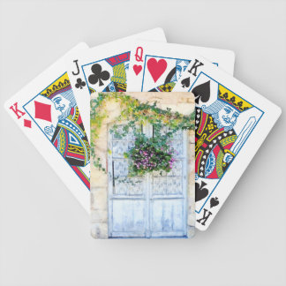 French Doors Poker Deck