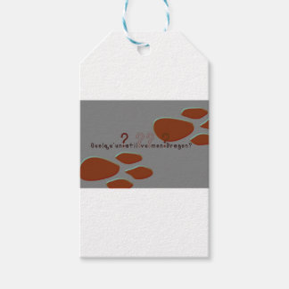 French-Dragon Gift Tags