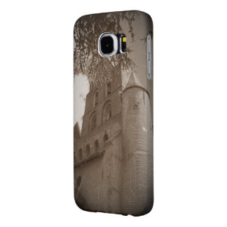 French Eglise antique sepia Samsung6 case template Samsung Galaxy S6 Cases