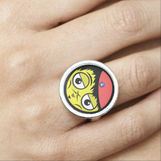 French Face Ring