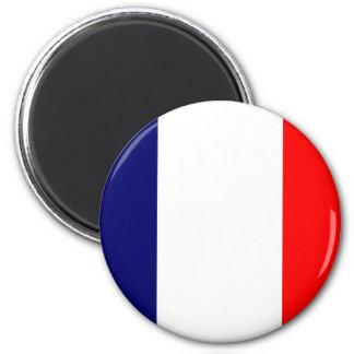 French Flag Design - OUI Fridge Magnet