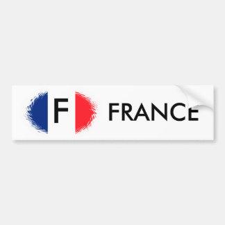 FRENCH FLAG,FRANCE BUMPER STICKER