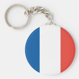 French Flag Key Chain