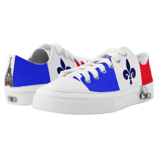 French flag low tops