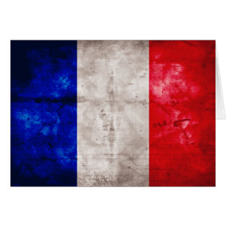 French Flag Note Card