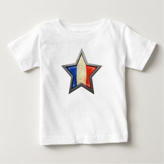 French Flag Star Tshirts