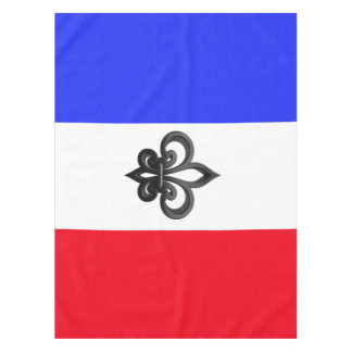 French flag tablecloth