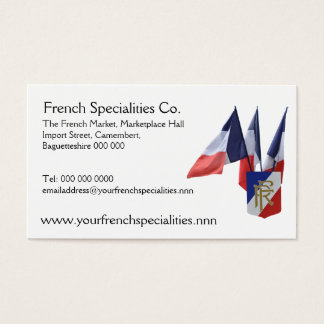 French flags specialty importers