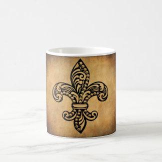 French, Fleur De Lis Coffee Mug